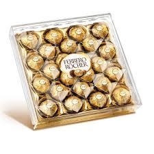Chcolate Ferrero Rocher 25 unidades