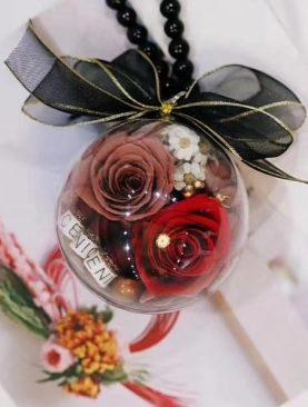 Rosa  Preservada - Perchas de Techo