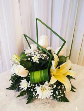 Arreglo Funeral centro mesa