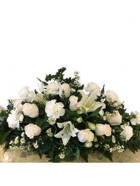 Arreglo funeral cubre-caja