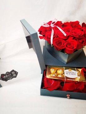 20 Rosas de Corazón