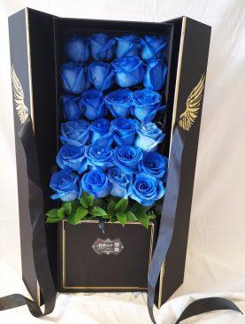 Ala de angel Rosas Azul
