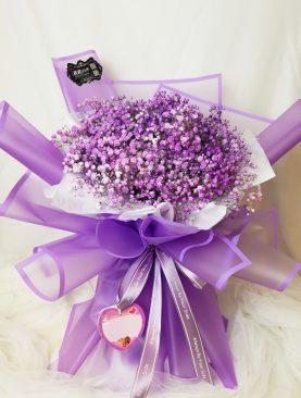 Ramo Gysofilia lila mediano