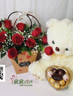 San Valentin flower